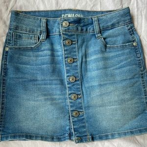 REWASH denim skirt